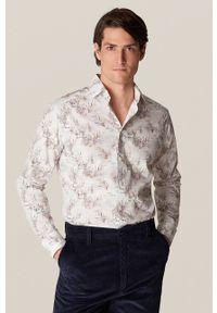 Eton - ETON - Koszula bawełniana. Typ kołnierza: kołnierzyk klasyczny. Kolor: biały. Materiał: bawełna. Długość rękawa: długi rękaw. Długość: długie. Styl: klasyczny