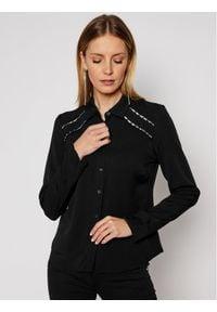 Guess Koszula Rocca W1RH52 WAUK2 Czarny Regular Fit. Kolor: czarny