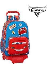 Cars Torba szkolna z kółkami 905 Cars Mc Queen Niebieski Czerwony. Kolor: niebieski, czerwony, wielokolorowy
