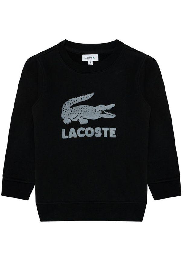 Czarna bluza Lacoste