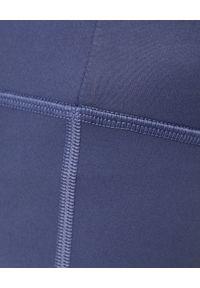 GIRLFRIEND COLLECTIVE - Niebieskie leginsy Tanzanite 7/8. Okazja: na co dzień. Stan: podwyższony. Kolor: niebieski. Materiał: materiał, tkanina. Styl: casual