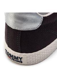 Niebieskie trampki Tommy Jeans na co dzień, casualowe