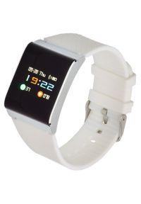 Biały zegarek GARETT sportowy, smartwatch