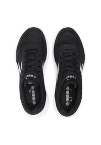 Czarne buty do biegania Diadora z cholewką