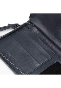 Wittchen - Damski portfel skórzany z kieszenią na telefon. Materiał: skóra #5