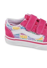Różowe buty sportowe Vans Vans Old Skool