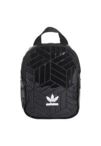 Czarny plecak Adidas w kolorowe wzory