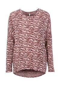 Sweter Soyaconcept melanż, długi, z długim rękawem