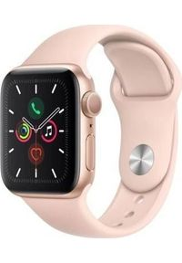 Różowy zegarek APPLE smartwatch