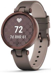 Brązowy zegarek GARMIN sportowy