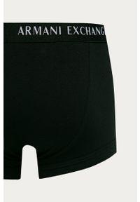 Szare majtki Armani Exchange z nadrukiem