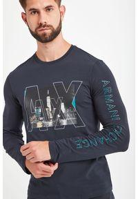 Armani Exchange - LONGSLEEVE ARMANI EXCHANGE. Długość rękawa: długi rękaw. Styl: elegancki #2
