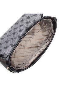 Szara torebka klasyczna U.S. Polo Assn skórzana