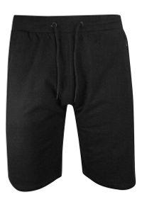 Czarne spodnie Brave Soul na lato, krótkie