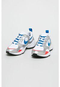 Białe sneakersy Nike Sportswear z cholewką, z okrągłym noskiem