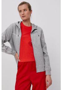 Nike Sportswear - Bluza. Okazja: na co dzień. Kolor: szary. Styl: casual