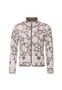 Poivre Blanc - Bluza POIVRE BLANC JUNIOR. Kolor: różowy. Materiał: materiał, elastan. Wzór: nadruk