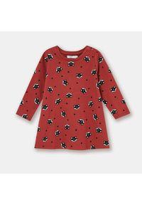 Czerwona sukienka Sinsay