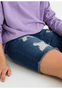 Niebieskie jeansy bonprix eleganckie