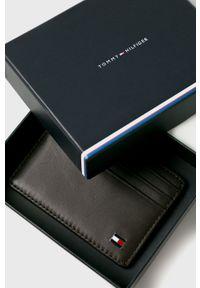 Brązowy portfel TOMMY HILFIGER