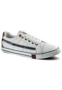 Białe trampki Cross Jeans