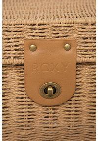 Roxy - Torebka. Kolor: brązowy. Rodzaj torebki: na ramię