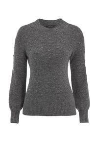 Szary sweter Happy Holly melanż