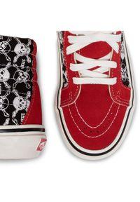 Czerwone buty sportowe Vans Vans SK8