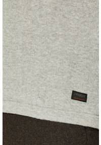 Szary sweter PRODUKT by Jack & Jones na co dzień, casualowy #5