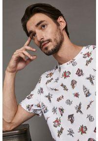 medicine - Medicine - T-shirt Gruby Kruk, Tattoo Konwent. Kolor: biały. Materiał: dzianina