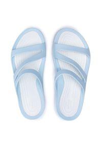 Crocs Klapki Swiftwater Sandal W 203998 Niebieski. Kolor: niebieski