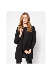 Czarny płaszcz Manila Grace