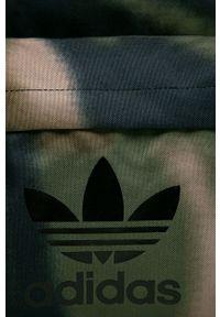 adidas Originals - Plecak. Kolor: zielony. Materiał: poliester