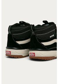 Czarne sneakersy Vans na sznurówki, z cholewką #4