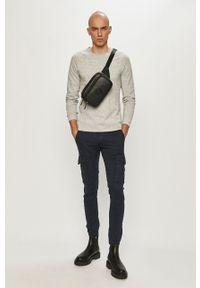 Jack & Jones - Spodnie. Okazja: na co dzień. Kolor: niebieski. Materiał: tkanina. Wzór: gładki. Styl: casual