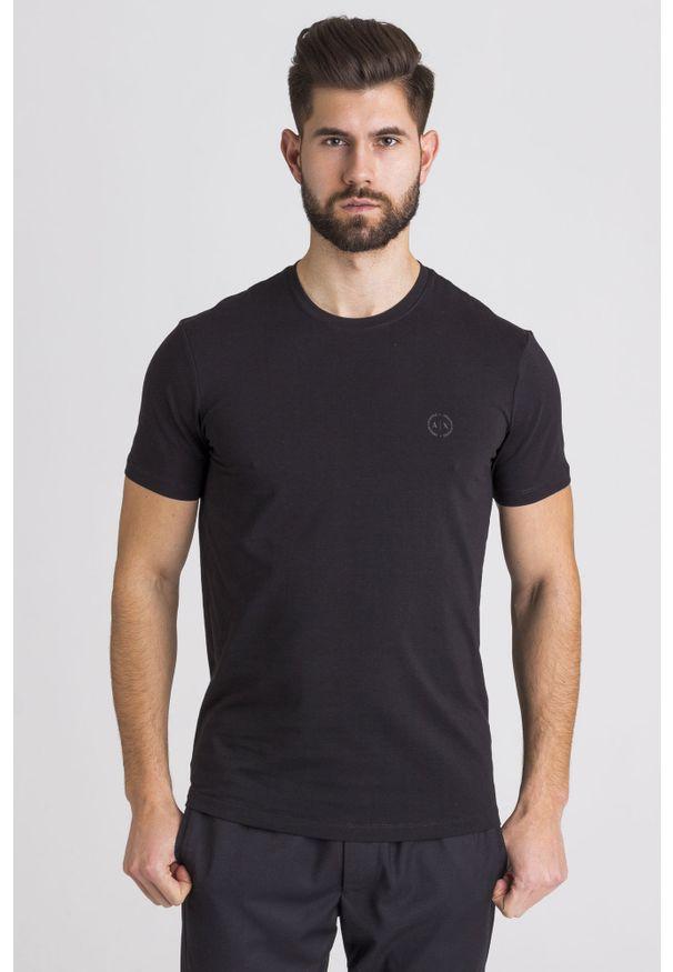 T-shirt Armani Exchange z nadrukiem