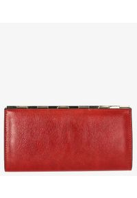 Cedar - Portfel damski czerwony. Kolor: czerwony