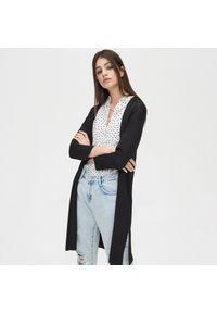 Czarny sweter Cropp długi