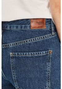 Niebieskie proste jeansy Pepe Jeans