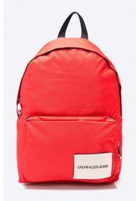Czerwony plecak Calvin Klein