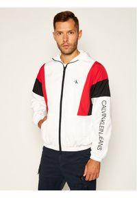 Biała kurtka przejściowa Calvin Klein Jeans