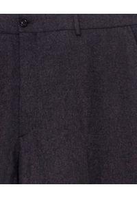 Ralph Lauren - RALPH LAUREN - Spodnie. Kolor: szary. Materiał: materiał, wełna. Styl: elegancki