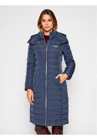 Niebieska kurtka zimowa EA7 Emporio Armani