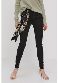 Vero Moda - Jeansy Lux. Kolor: czarny