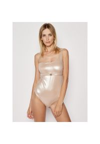 Złoty strój kąpielowy Liu Jo Beachwear
