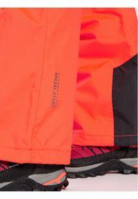 Pomarańczowe spodnie sportowe Helly Hansen narciarskie