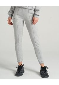 SELF LOVE - Szare spodnie dresowe Aspen. Kolor: szary. Materiał: dresówka