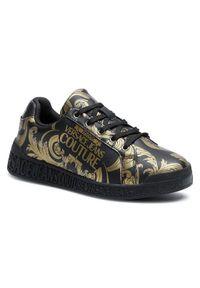 Versace Jeans Couture Sneakersy E0VWASP7 Czarny. Kolor: czarny