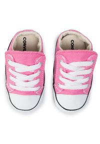 Różowe półbuty Converse