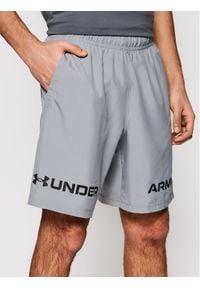Under Armour Szorty sportowe Graphic 1361433 Szary Loose Fit. Kolor: szary